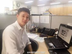 Yoochun is doing good in Gangnam District Office