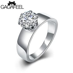 Ring. Wedding Ring Stainless Steel Ring For Men Women Clear CZ Zircon 6MM WidthDeep discounts on over 300 products that enhance your life from day to day! Items for men and women of all ages, also teenagers. Take a look at our #jewelry #handbags #outerwear #electronicaccessories #watches #umbrellas #gpspettracker  #diabetesmonitor #rings #electronicaccesories