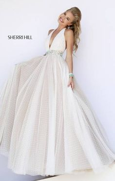 I love this dress and Sherri Hill
