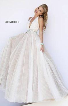 I love this dress and Sherri Hill