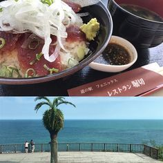 【yuriken0626】さんのInstagramをピンしています。 《今日のランチは少し贅沢に…😍 マグロ丼 #道の駅フェニックス#青島#宮崎#ランチ#海#miyazaki#aoshima#lunch#ocean#japan》