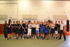 Groepsfoto van boksteam Assen