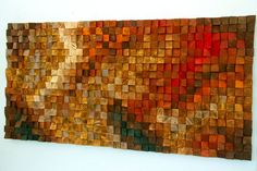 The Universe - Wood wall art in blue navy blue yellow orange brown, Wood mosaic sculpture, Abstract painting on wood, 3 d wall art decor Wood wall art The Universe Reclaimed Wood Art 3 d wall art Large Wood Wall Art, Reclaimed Wood Wall Art, Rustic Wood Walls, 3d Wall Art, Rustic Art, Art Mural, Abstract Wall Art, Wall Art Decor, Wood Sculpture