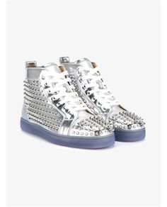 CHRISTIAN LOUBOUTIN Louis Spike Sneakers. #christianlouboutin #shoes #sneakers