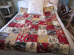 Handmade COWGIRL COWBOY Western QUILT Moda Decorator by jlquilts, $189.00