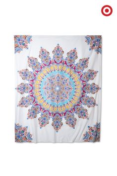 Transform your dorm room from white walls to a whimsical sanctuary with the Gypsy Rose décor from Boho Boutique. Bright colors and bold patterns make this the ultimate statement piece for your new pad.
