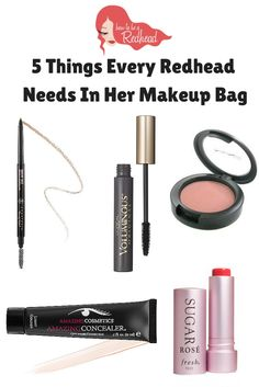5 Things Every Redhead Needs In Her Makeup Bag