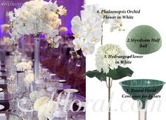 Tall Floral Centerpieces Diy - Diy Wedding Flower Centerpieces Diy Wedding Flower Centerpieces Diy Tall Rose Garden Wedding Centerpiece Diy Tall Centerpieces Beautiful Photos For Id. Diy Wedding Flower Centerpieces, Orchid Centerpieces, Flower Bouquet Wedding, Floral Wedding, Wedding Decorations, Wedding Colors, Trendy Wedding, Centerpiece Flowers, Centerpiece Ideas