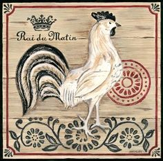 Vintage French Farm Rooster (Jennifer Brinley)