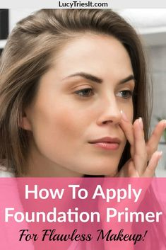 Is your foundation not lasting very long? Do you feel like it could look better? Then you may want to try foundation primer! Wondering how to use foundation primer? How To Use Foundation, Foundation Primer, Flawless Foundation Application, Makeup Application, Makeup Tips For Oily Skin, How To Apply Makeup, Applying Makeup, Clean Makeup, Face Tips