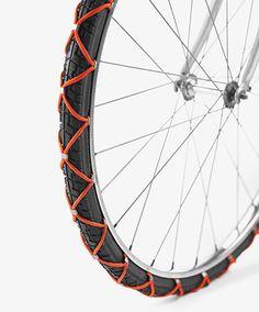 Vernuftige fietsaccessoires van Zwitserse designstudenten