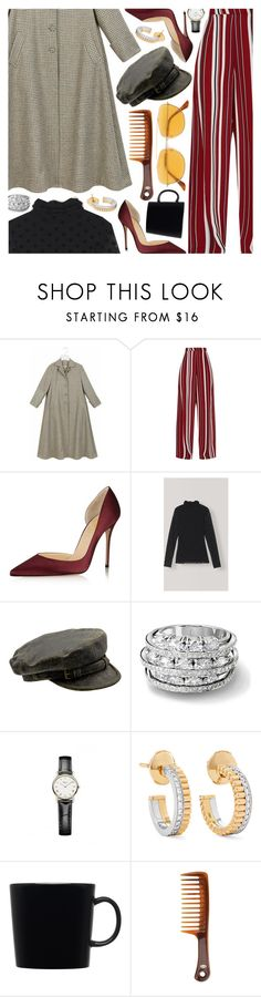 """""""Untitled #7033"""" by amberelb ❤ liked on Polyvore featuring Boucheron, iittala, Goody and RetroSuperFuture"""