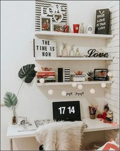 40 Adorable Diy Home Office Decor Ideas With Tutorials. If you work at home, then you spend a lot of time in your home office. It is hard not to when your home and your work are housed under the same . Home Office Organization, Home Office Decor, Organization Ideas, Storage Ideas, Ikea Storage, Storage Hacks, Shelf Ideas, Patio Plan, Cheap Home Decor