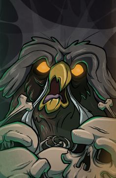 The Great Owl from 'The Secret of NIMH' by Schuyler Abrams