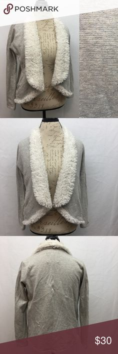"""Jack Jacket Beautiful Jack jacket. Heathered gray with gold fleck. Super Soft collar and flaps. Excellent used condition with no flaws. Size S. Armpit to armpit 20"""". Shoulder to bottom hem 23"""". Jack by BB Dakota Jackets & Coats"""
