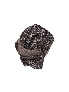 Brionia leopard wool scarf - # Q56730002 - By Malene Birger Autumn Winter 2014 - Women's fashion