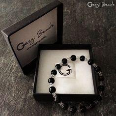 Gesgi Beads Bracelet Black Trans GBBT11 « Gesgi Beads