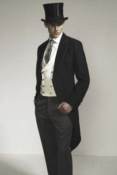 English Men's Dress Cloths (top hat and coat tails) No words needed....