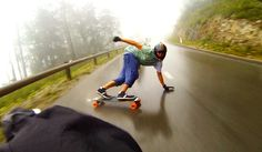 Sliding, just one of the extreme highs and awesomeness of longboarding.