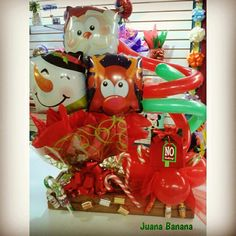 #navidad #navidad viva la #navidad Banana, Gift Wrapping, Gifts, Globes, Presents, Xmas, Gift Wrapping Paper, Wrapping Gifts, Bananas