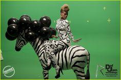 Rihanna: 'Rude Boy' Music Video Stills! | rihanna zebra rude boy music video 05 - Photo