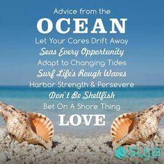 Ocean Love.Just come for a visit and you'll want to stay.