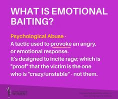 """Joni Byars on Twitter: """"Baiting tactics used by #Narcissists #Sociopaths #Psychopaths"""""""