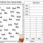 "This+freebie+is+a+sampler+from+my+pack+""Whoooooo+Can+Do+Sight+Word+Math+Using+Look+Alike+Words?+Set+1:+Graphs++Patterns.""+  Students+will+need..."