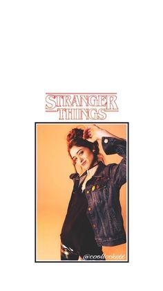 Stranger Things lock screen - Natalia Dyer (Nancy Wheeler)