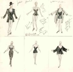 Chicago (Roxie Hart, Act I). Costume design by William Ivey Long.