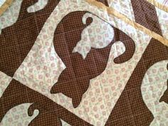 Cat applique quilt | Craftsy