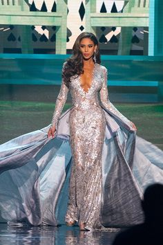 fav Miss Nevada's gown