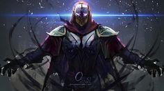 Download Zed League of Legends Art by Orekigenya 3840x2160