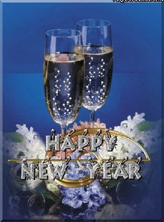 """""""Happy New Year GIF Here you can find an awesome collection about Happy New Year GIF Animated Wallpaper Screensaver. We hope you like those Happy New Year GIF and animated wallpapers. Happy New Year Animation, Happy New Year Pictures, Happy New Year Wishes, Happy New Year 2018, Happy New Year Greetings, Merry Christmas And Happy New Year, Happy Year, Happy Images, Moving Pictures"""