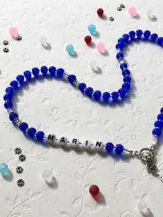 🌸🌸🌸🌸🌸🌸🌸🌸🌸🌸🌸 🌸‼️‼️‼️🆕🆕🆕‼️‼️‼️🌸 🌸🌸🌸🌸🌸🌸🌸🌸🌸🌸🌸  #neu #personalisierterRosenkranz  #novo #krunicasaimenom  #mojihrukudjelo #mattperlen Home Art, Beaded Necklace, Bracelets, Jewelry, Fashion, Beaded Collar, Moda, Jewlery, Pearl Necklace