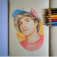 Logan Paul drawing