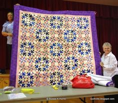 Quiltville's Quips & Snips!!: Show & Share in Englewood! Christmas from Scraps and Shirtails