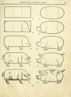 101 de classe pour le dessin d'aujourd'hui : mettant en vedette les leçons du livre vintage 1921