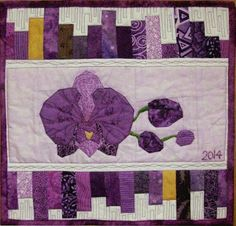 free orchid paaterns   Quilt patterns, paper piecing patterns ... : orchid quilt pattern - Adamdwight.com