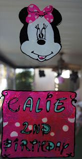 Minnie Mouse Window decals