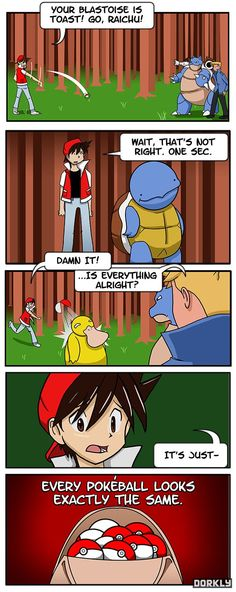 Pokemon is Confusing - Dorkly Comic