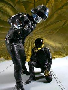 Daft Punk by Mick Rock - Prepare to get Lucky ! #music #hit #playlist