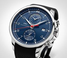 "IWC Introduces The Portuguese Yacht Club Chronograph ""Edition Laureus Sport For Good Foundation"" — HODINKEE - Wristwatch News, Reviews, & Original Stories"