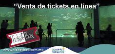 compra tickets en linea para el Acuario de Veracruz en www.ticketbox.com.mx