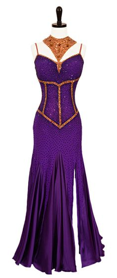 Queen of the Nile | Smooth  Standard Dresses | Encore Ballroom Couture
