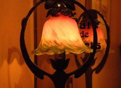 Three colors of the lamp