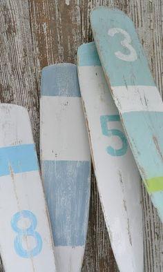Painted Oars