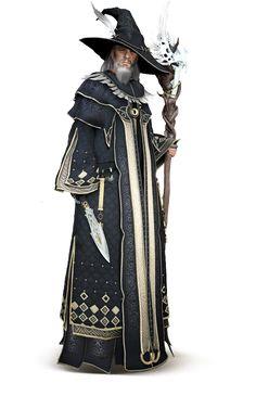 Black Desert Wizard Karakteri