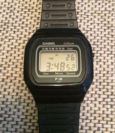 Casio F-8 (1980) Very rare watch