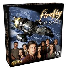 Back in stock! Alter Ego Games - Firefly the Game, $34.99 (http://alteregogames.net/firefly-the-game/)